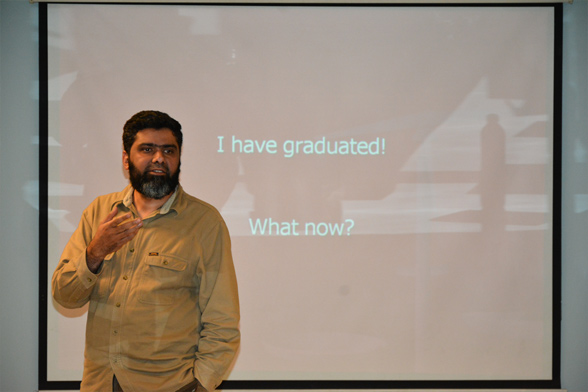 Professor Asad speaks at Heidelberg University, Germany