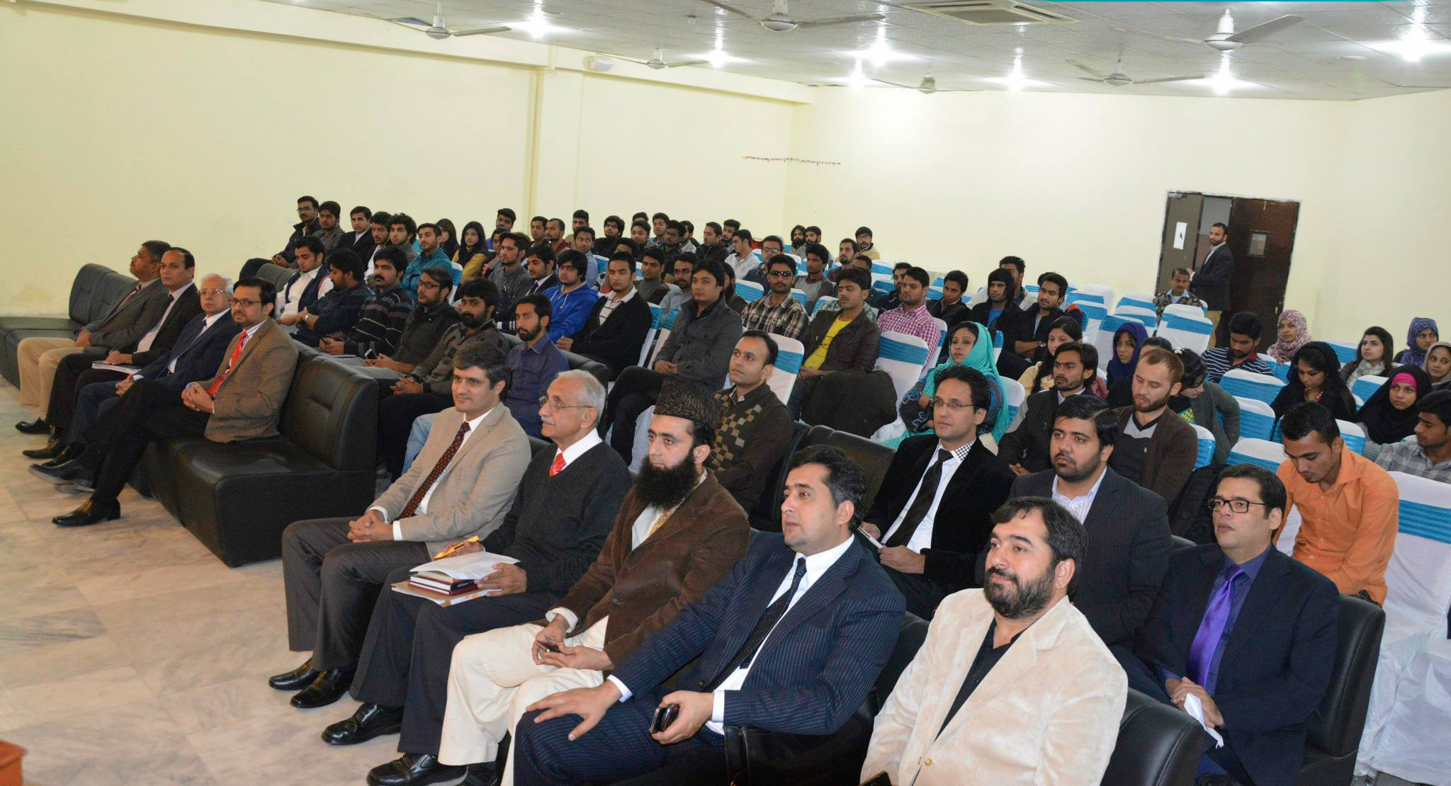 Attendees of  Session for Students Of MBA And BBA