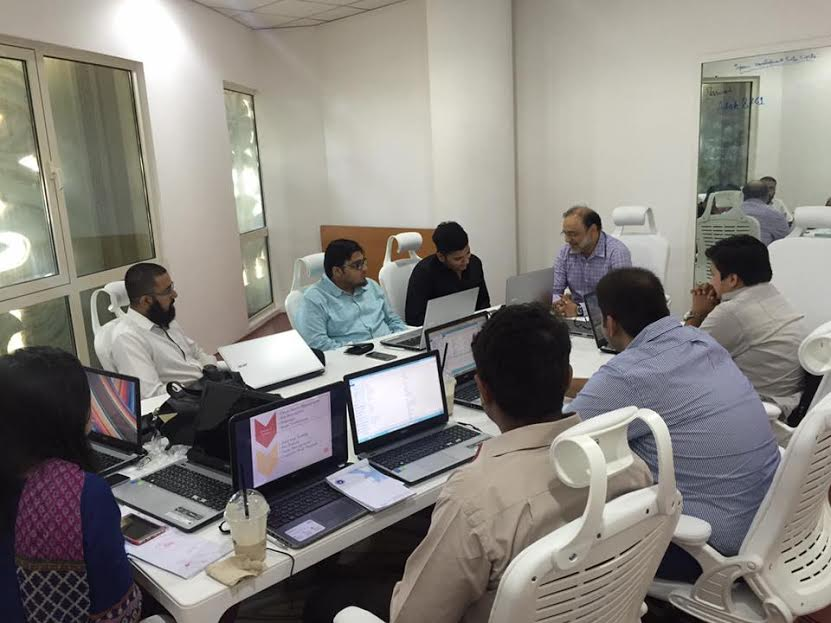 UMT Students Get ERP Training at IKL, Dubai