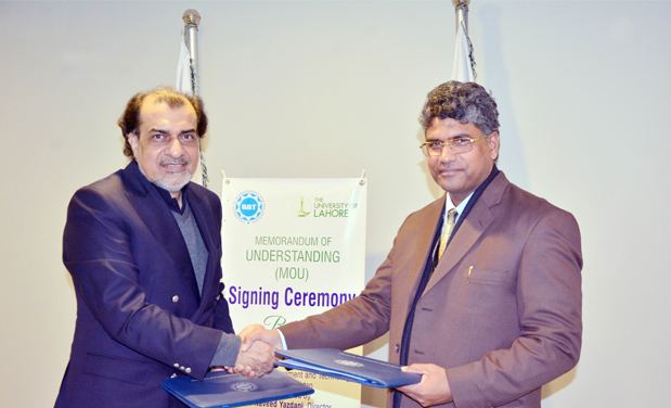 UMT Signs MoU with University of Lahore