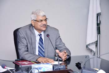 Dr Muhammad Aslam, Rector UMT-Holds Meeting with SCA-School of Commerce and Accountancy