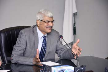 Dr Muhammad Aslam, Rector UMT-Holds Meeting with IAS-Institute of Aviation Studies