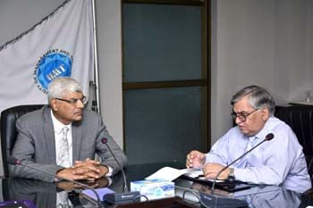 Dr Muhammad Aslam, Rector UMT-Holds Meeting with Institute of Gender Studies