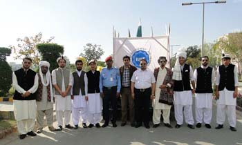 UMT Participation in the Government's Azm-e-Pakistan Parade on Pakistan Day 23rd March 2016 in Lahore