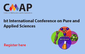 Ist International Conference on Pure and Applied Sciences