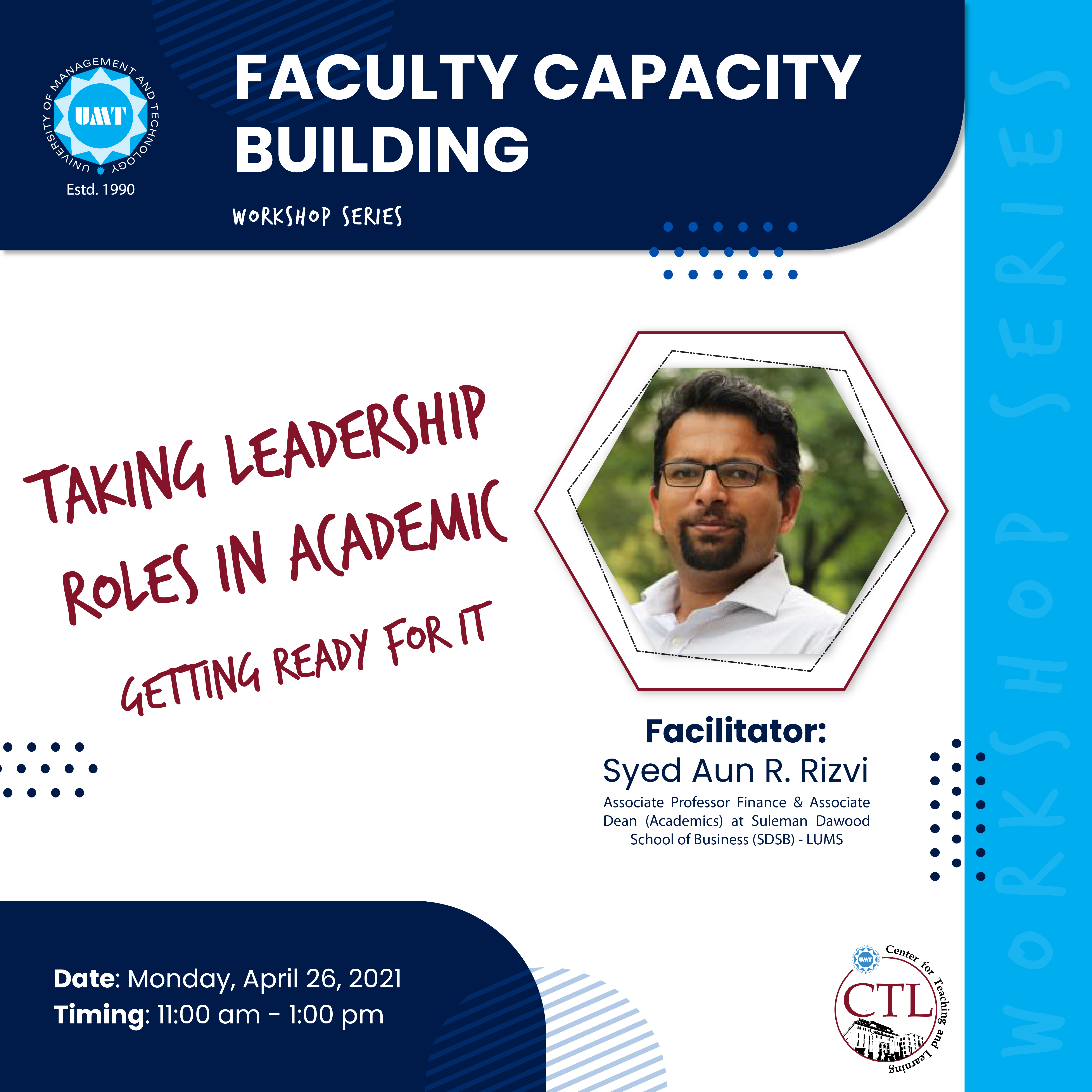 Taking Leadership Role In Academic - Getting Ready For It