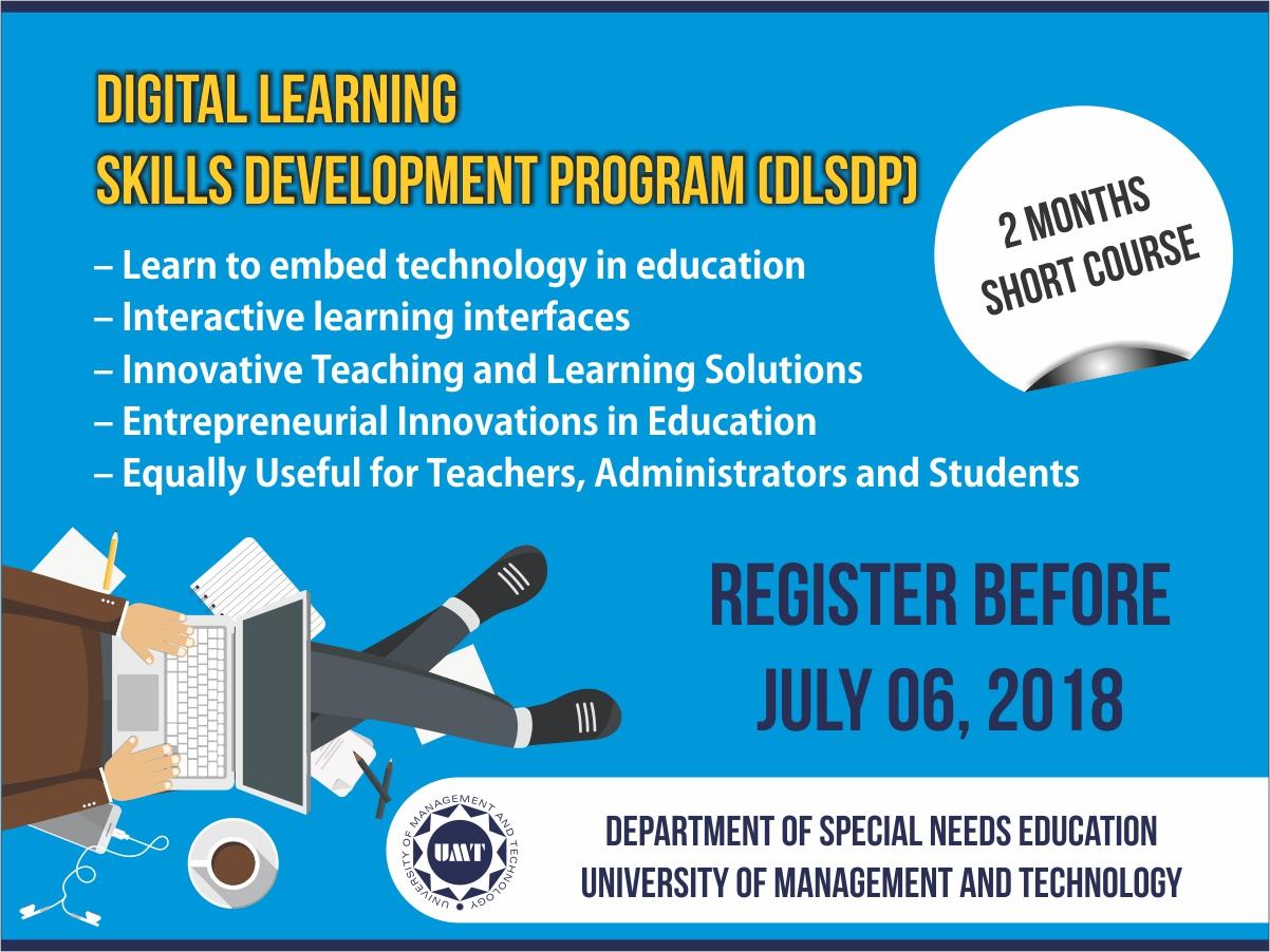 Digital Learning Skills Development Program (DLSDP)