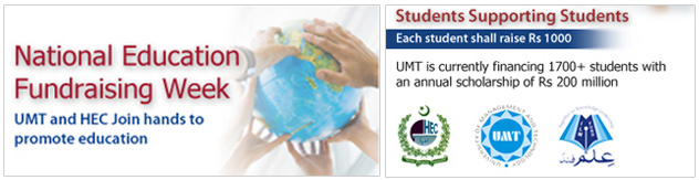 UMT joins HEC in fund raising week