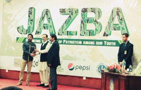 Fahad Hussain wins English poetry competition at FAST University, Islamabad