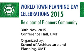 World Town Planning Day Celebrations 2015