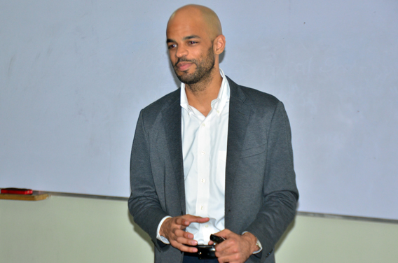 Benje Williams from Amal Academy Discusses Career Challenges with UMT Students