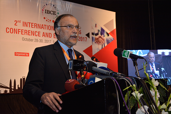 IBCE is a Major Event to bring Business and International Partnerships Closer: Prof Ahsan Iqbal Choudhary