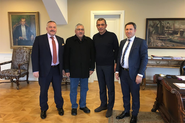 Abid H K Shirwani Holds Meeting with Ibrahim Caglar to Discuss Cooperation for IBCE 2018