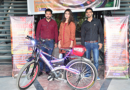 Launch of Hybrid Electronic Bicycle