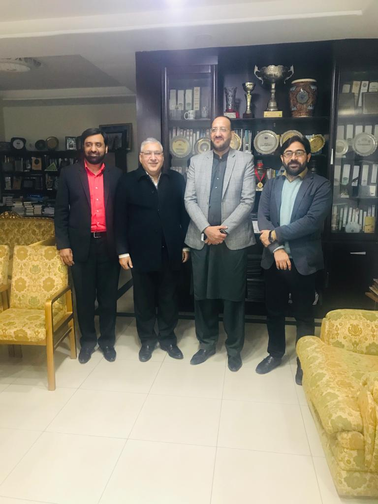 Meeting between CENTIN-UMT and the focal person of Startup Pakistan from PM Office