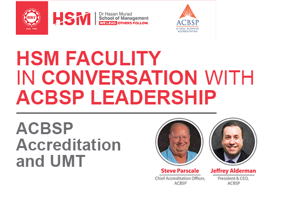 HSM Faculty in Conversation with ACBSP Leadership.